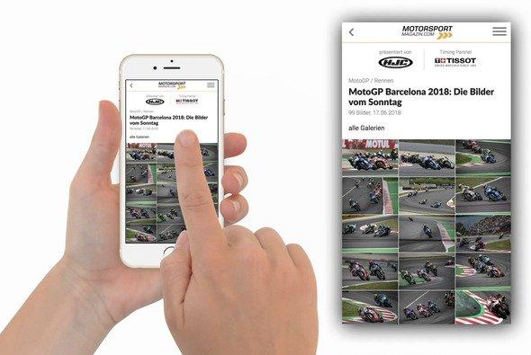 Mit unserer App bleibst du immer auf dem Laufenden - Foto: Motorsport-Magazin.com