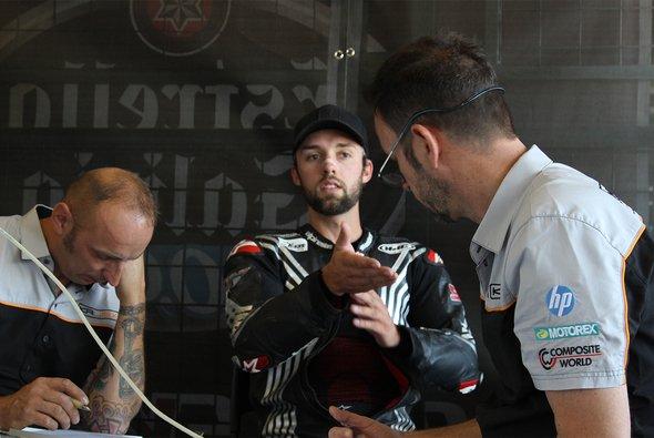 Jonas Folger war nochmals für Kalex im Testeinsatz - Foto: Kalex