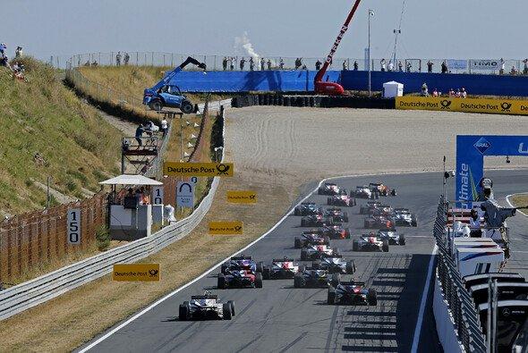 Troitckii führte zum erstem Mal in seiner Karriere ein Rennen der FIA Formel-3-Europameisterschaft an - Foto: FIA F3