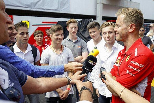 Sebastian Vettel ist Schirmherr der ADAC Formel 4 - Foto: ADAC Formel 4