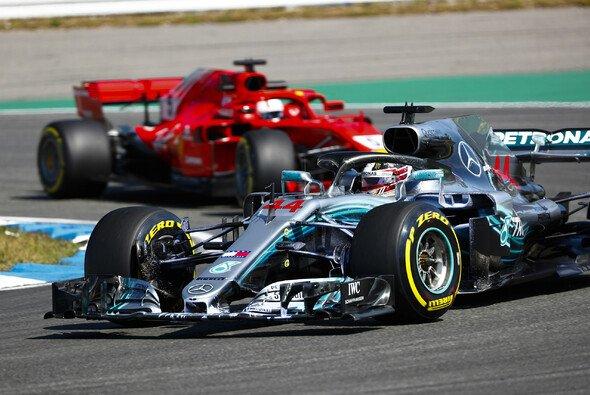 In Hockenheim werden Mercedes und Ferrari den Sieg wohl nicht nur unter sich ausmachen - Foto: LAT Images