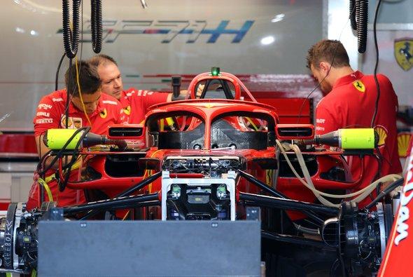 Ferrari muss seit Singapur mit einem zusätzlichen Sensor an der Power Unit fahren - Foto: Horst Bernhardt