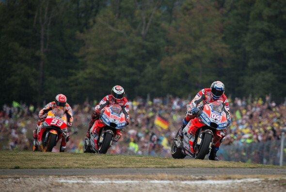 Marc Marquez sah die beiden Ducati in Brünn am Ende nur von hinten - Foto: Tobias Linke