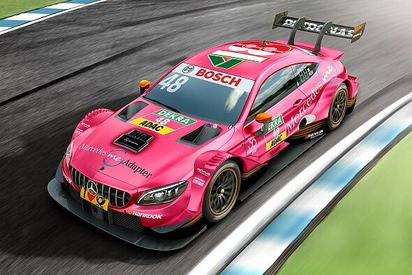Edo Mortara wird erneut zum Pink Panther bei Mercedes - Foto: Mercedes