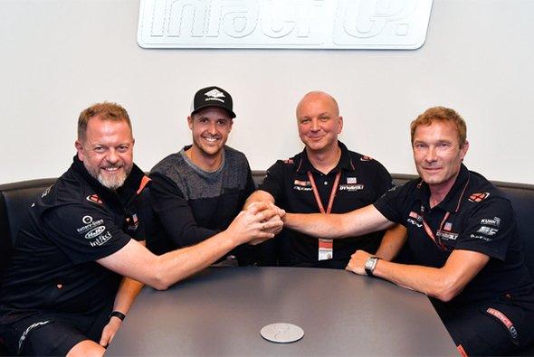 Tom Lüthi kehrt 2019 in die Moto2 zurück - Foto: Dynavolt Intact GP