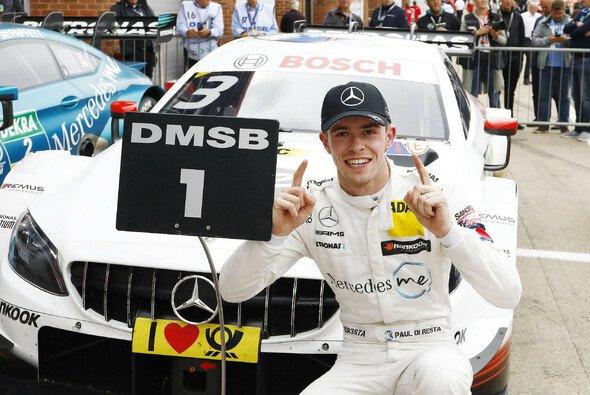Paul di Resta sicherte sich am Sonntag seinen dritten Sieg in Brands Hatch - Foto: DTM
