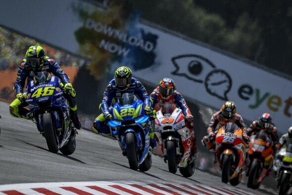 Die MotoGP läuft 2019 auch in Deutschland auf ServusTV - Foto: Yamaha