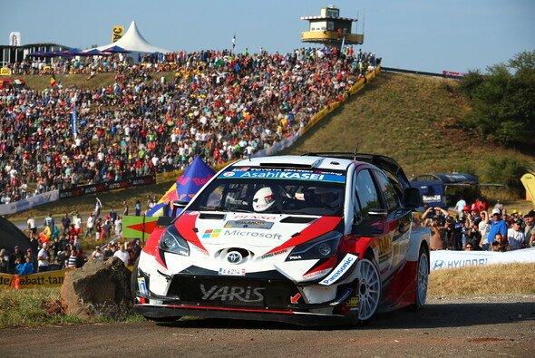 Ott Tänak dominiert die Rallye Deutschland 2018 - Foto: ADAC Rallye Deutschland