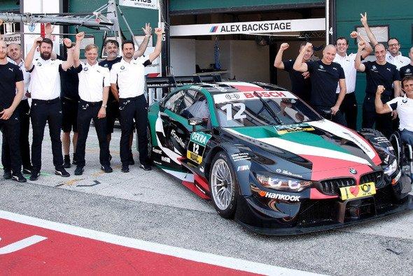 Alex Zanardi belegte im 1. Misano-Training den letzten Platz - Foto: BMW Motorsport/Twitter