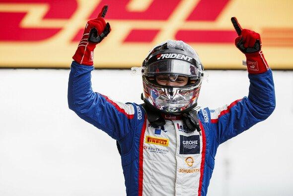 David Beckmann holte sich in Spa seinen ersten Sieg in der GP3 - Foto: GP3 Series