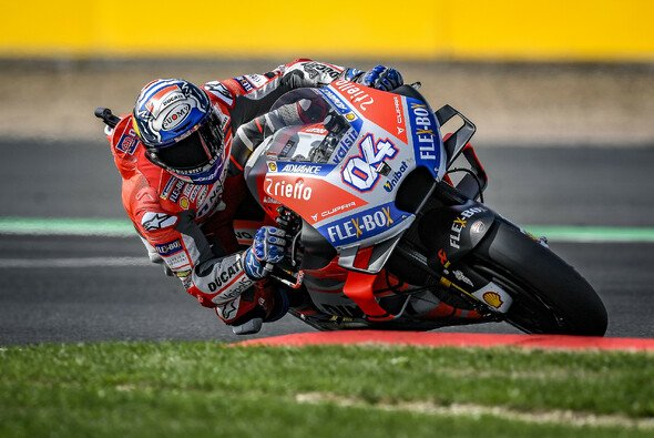 Andrea Dovizioso holte sich die Freitagsbestzeit in Misano - Foto: Ducati