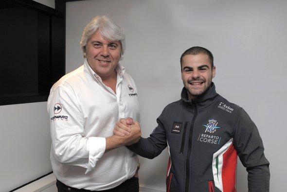 Giovanni Cuzari holt Romano Fenati zu Forward - Foto: Forward Racing