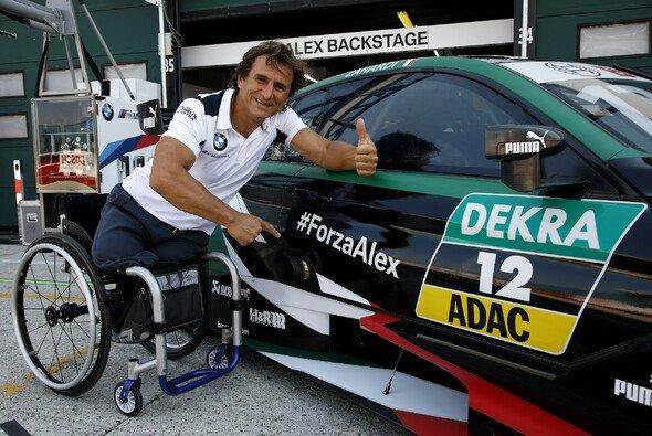 Alex Zanardi fuhr beim Sonntags-Rennen in Misano auf Platz 5 - Foto: BMW Motorsport