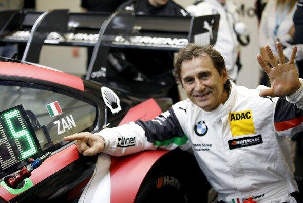 Alex Zanardi sieht das Positive in der Corona-Krise - Foto: BMW Motorsport