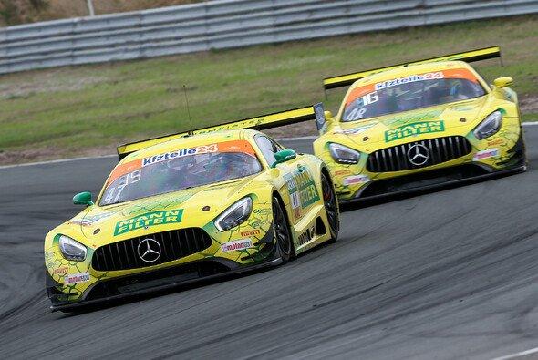 Die Mercedes-AMG des Mann-Filter Team HTP zählen zu den Favoriten - Foto: ADAC GT Masters