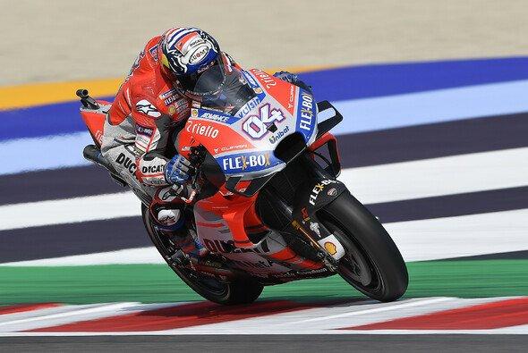 Ducati und Andrea Dovizioso holten in Misano zwei Trainings-Bestzeiten - Foto: Ducati