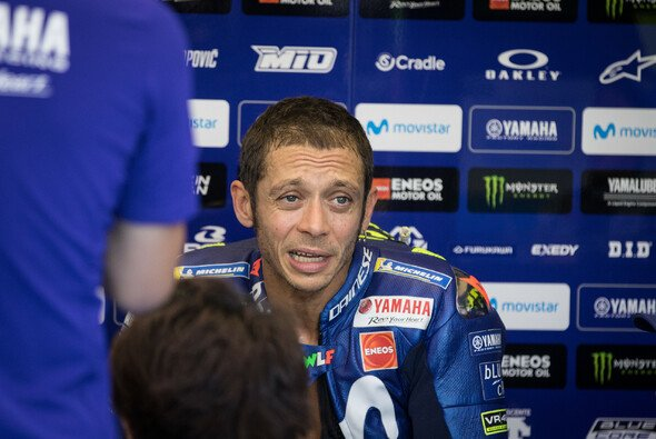 Für Valentino Rossi lief es am Samstag nicht rund - Foto: Tobias Linke
