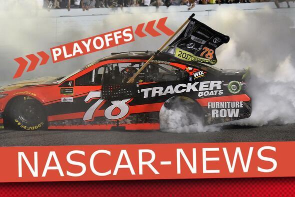 Donuts gehören zur NASCAR wie Lucky Dogs und die Victory Lane - Foto: NASCAR/Motorsport-Magazin.com