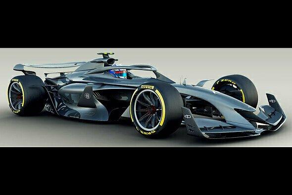 Sieht so die Zukunft der Formel 1 aus? - Foto: FOM