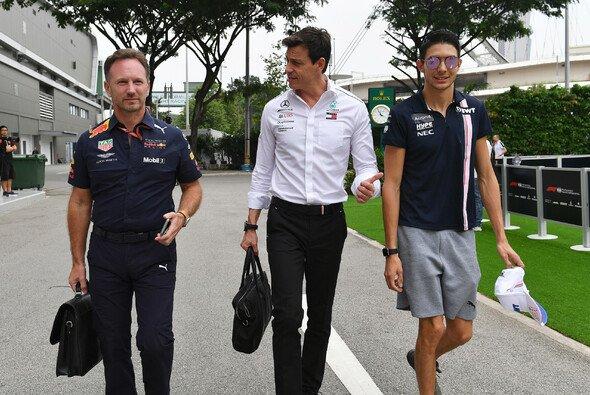 Hat Mercedes-Junior Esteban Ocon Max Verstappen in Mexiko mit Berechnung abgeschossen? Toto Wolff stellt sich gegen diesen Red-Bull-Vorwurf - Foto: LAT Images