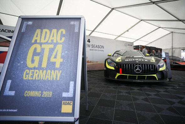 Die ADAC GT4 Germany startet 2019 bei sechs Events - Foto: ADAC GT4 Germany