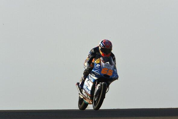 Philipp Öttl wirkt aktuell etwas verloren auf seiner Moto3-KTM - Foto: LAT Images