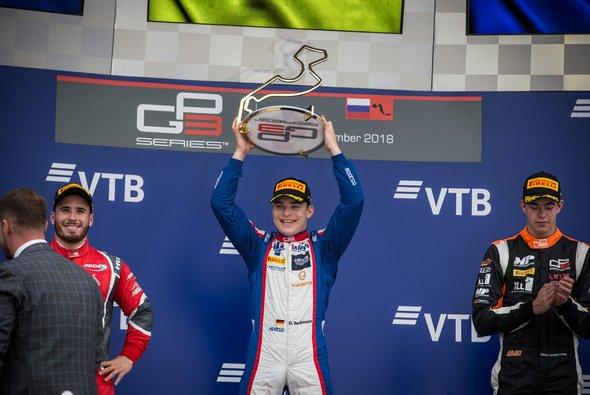 David Beckmann feierte in Sotschi seinen dritten Saisonsieg in der GP3 - Foto: Paolo Pellegrini
