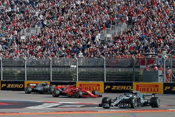 Die Reifenwahl für den Russland GP: Mercedes konservativ, Red Bull und Ferrari ident - Foto: LAT Images