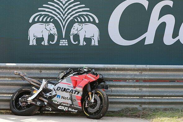 Jorge Lorenzos Ducati kommt in Thailand nicht mehr zum Einsatz - Foto: LAT Images