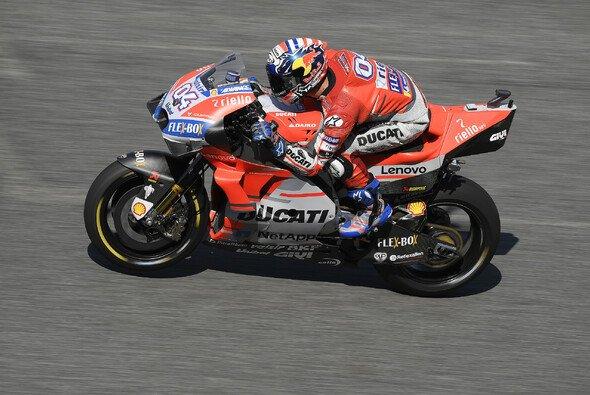 Andrea Dovizioso hatte in FP1 die Nase vorne - Foto: Ducati