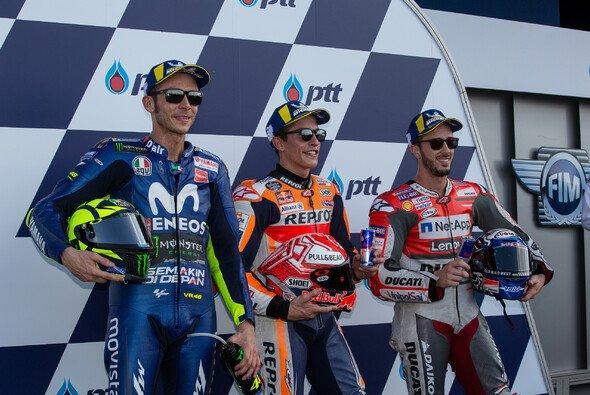 Dieses MotoGP-Trio steht in Thailand in der ersten Reihe - Foto: Tobias Linke
