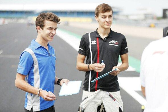 Lando Norris und George Russell stehen in der Formel-1-Saison 2019 vor schwierigen Aufgaben - Foto: LAT Images