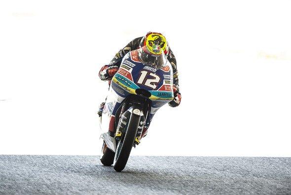Marco Bezzecchi setzt sich in Motegi im Moto3-Zielsprint durch - Foto: LAT Images
