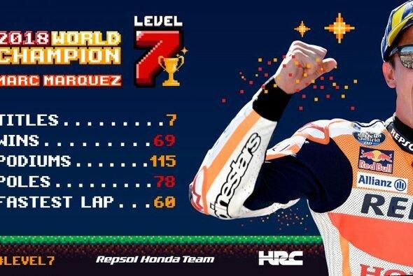 Marc Marquez und seine beeindruckenden MotoGP-Zahlen - Foto: Repsol Honda