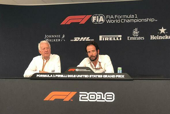 Charlie Whiting bei seinem Media Briefing in Austin - Foto: Motorsport-Magazin.com