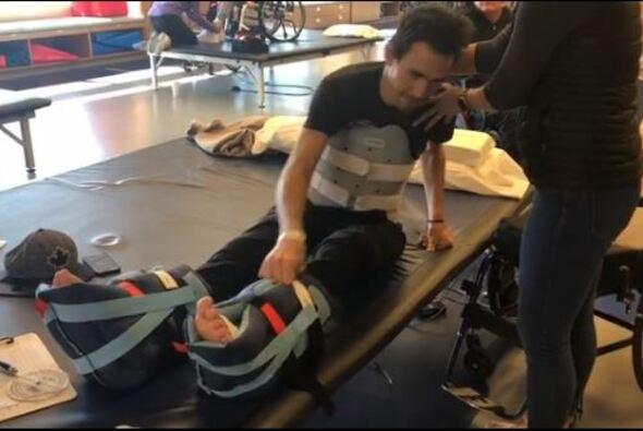 Robert Wickens kann seine Beine nicht selbstständig bewegen - Foto: Robert Wickens/Instagram