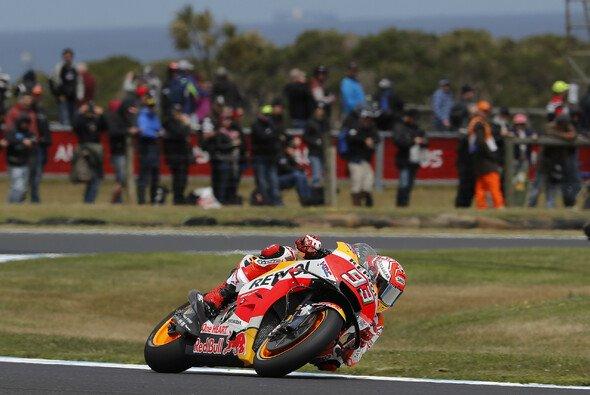 Marc Marquez steht auf Phillip Island auf Pole Position - Foto: Repsol Honda