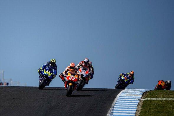 Der Australien-GP sorgt für kurze Nächte unter MotoGP-Fans - Foto: Suzuki