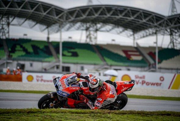 Nach einem Tag ist der Malaysia-GP für Lorenzo schon wieder vorbei - Foto: Ducati