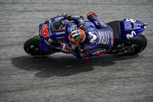 Maverick Vinales hatte in FP3 die Nase vorne - Foto: Movistar Yamaha