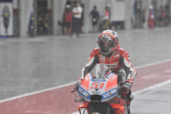 Wenn in der MotoGP der Regen einsetzt, ist die Rennleitung gefragt - Foto: Ducati