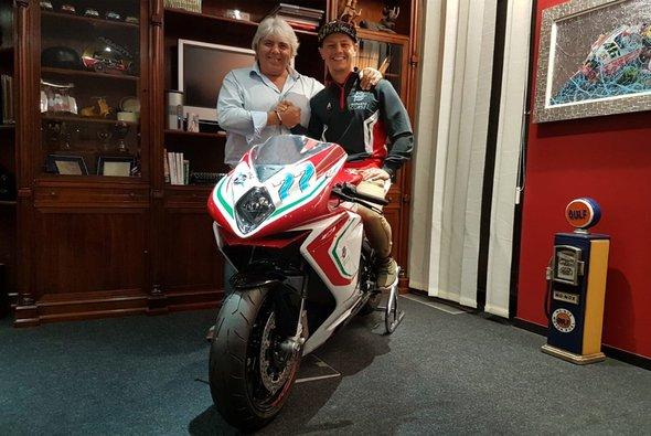 Dominique Aegerter fährt 2019 MV Agusta - Foto: Forward Racing
