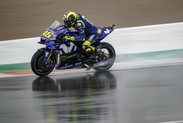 Für Valentino Rossi lief es im 3. Training nicht rund - Foto: Movistar Yamaha