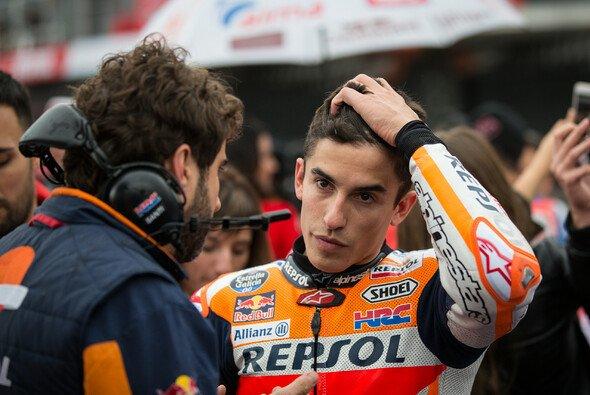 Für Marc Marquez endete die MotoGP-Saison schmerzhaft - Foto: Tobias Linke