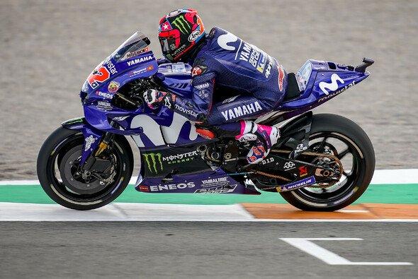 Maverick Vinales war auch am Mittwoch schnellster Mann in Valencia - Foto: Yamaha