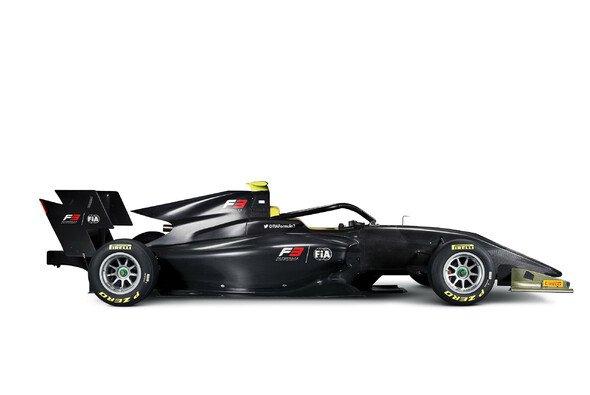 Das neue Formel-3-Auto für die Saison 2019 - Foto: FIA Formula 3