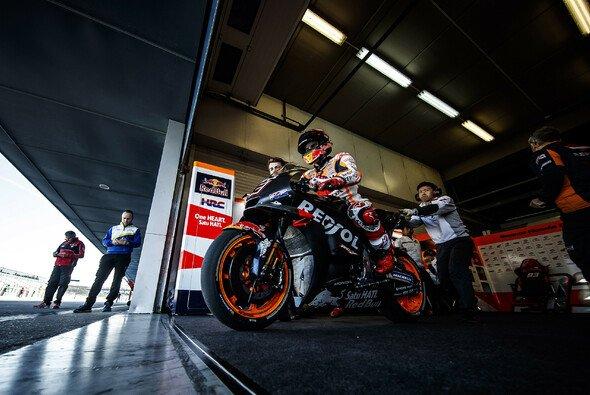 Marc Marquez hatte einige Neuerungen zum Test - Foto: Repsol Honda