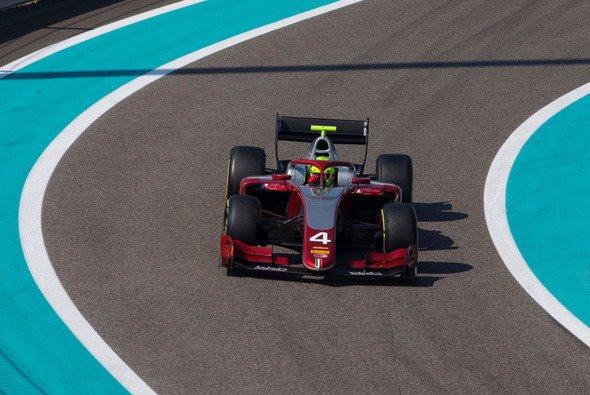 Mick Schumacher belegte am Nachmittag in Abu Dhabi den zweiten Platz - Foto: Mick Schumacher/Twitter