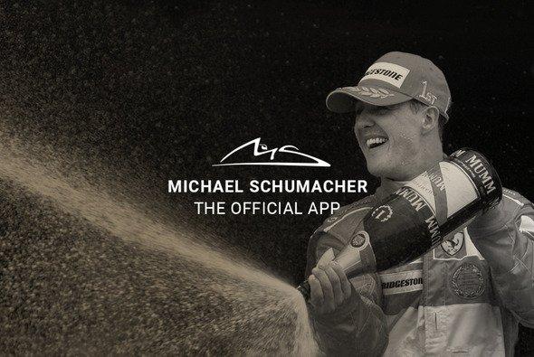 Michael Schumacher bekommt zum 50. Geburtstag eine eigene App - Foto: Screenshot/Schumacher. The Official App.