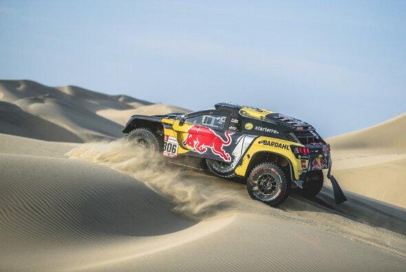 Sebastien Loeb auf dem Weg zum zweiten Etappensieg 2019 - Foto: Red Bull